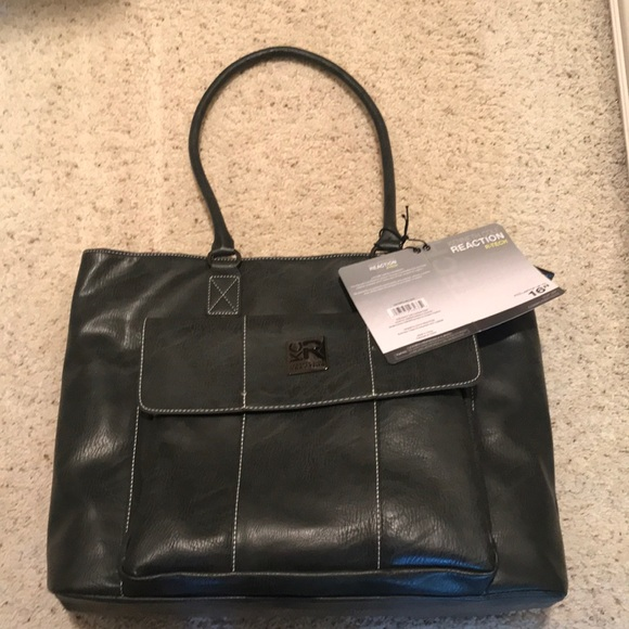 Kenneth Cole Reaction Handbags - New with tags Kenneth Cole top zip computer tote